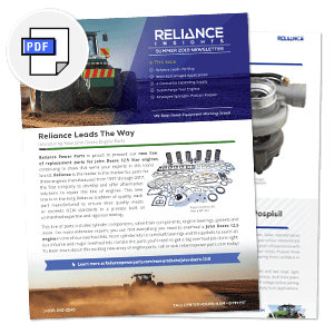 Reliance Power Parts Latest Engine News